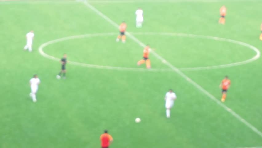 School football match