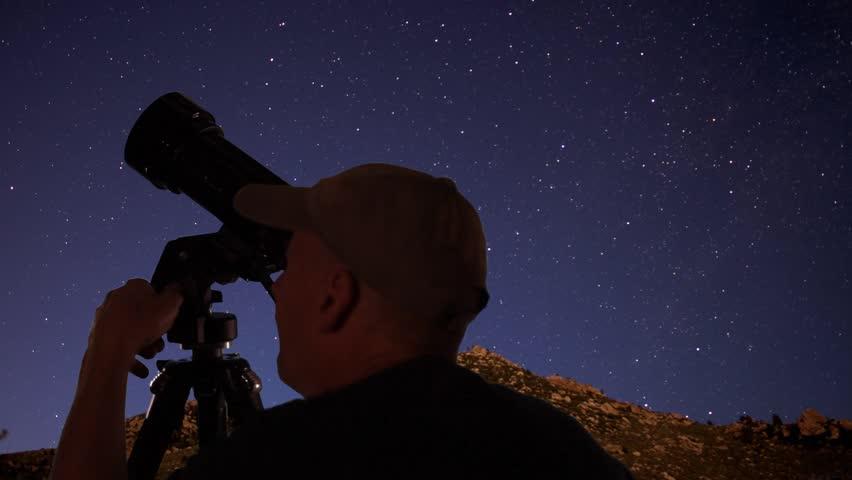 the view through a telescope