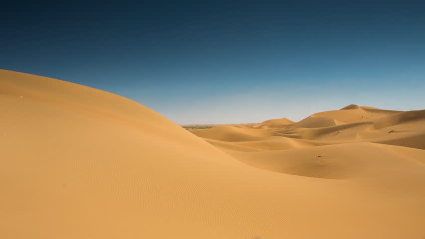 the amazing Erg chebbi dunes in the sahara desert, morocco