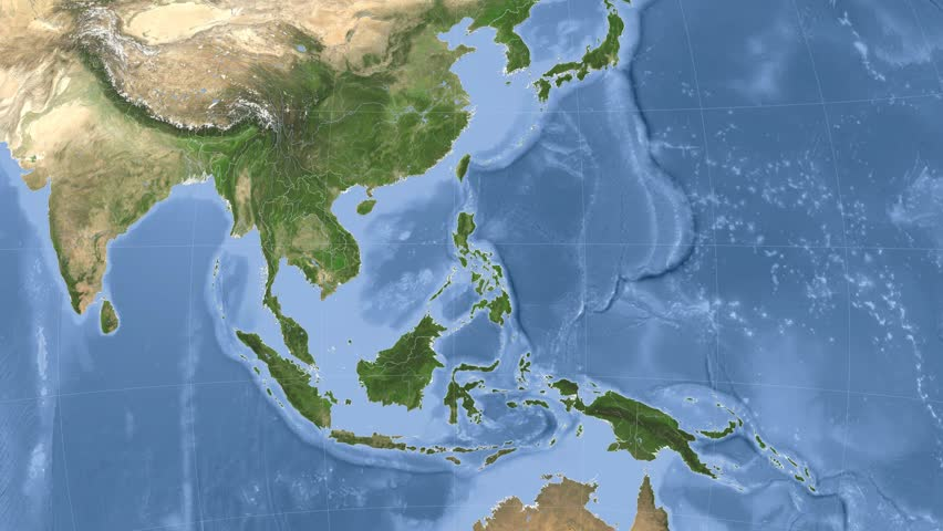 Philippines Map Stock Footage Video - Shutterstock