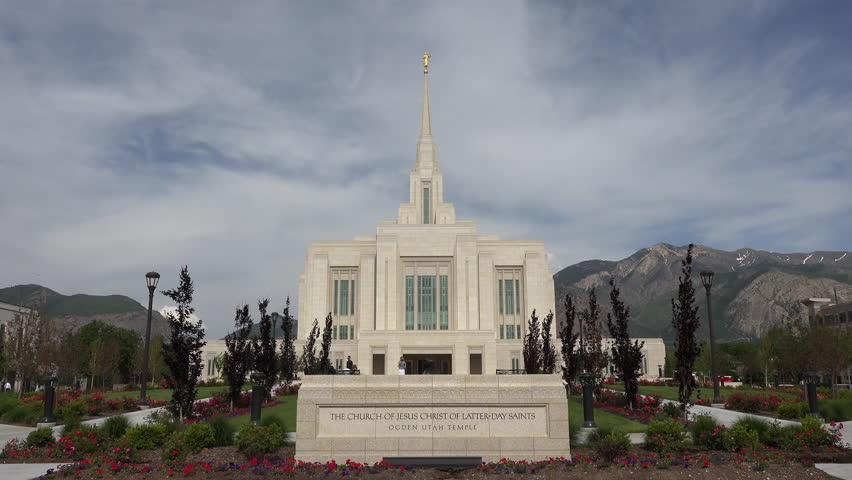Provo Utah Mar 2014 Lds Mormon Temple Aerial Provo City Center Temple Is A Sacred Building