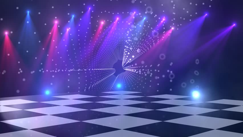 Image Gallery disco background