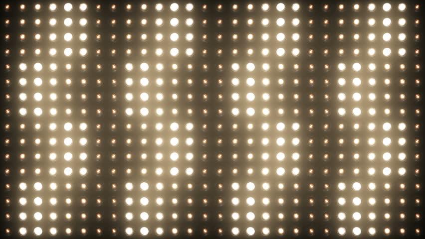 Flashing Lights Spotlight Bulb Flood lights Vj Led Wall Stage Led Display Blinking Lights Motion Graphics Background Backdrop 4K Ultra HD | Shutterstock HD Video #10391636