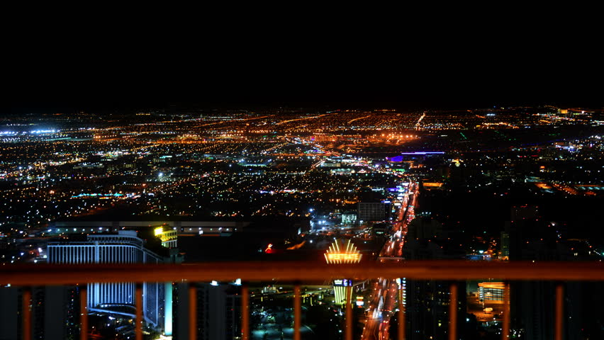 Las Vegas Timelapse Cityscape 50 Night | Shutterstock HD Video #10422407