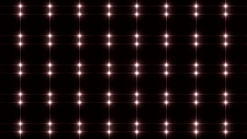Bright beautiful red disco background. Flood lights silver with glitter stars on black background. UHD 4k 4096.  Seamless loop. More videos in my portfolio. | Shutterstock HD Video #10527158
