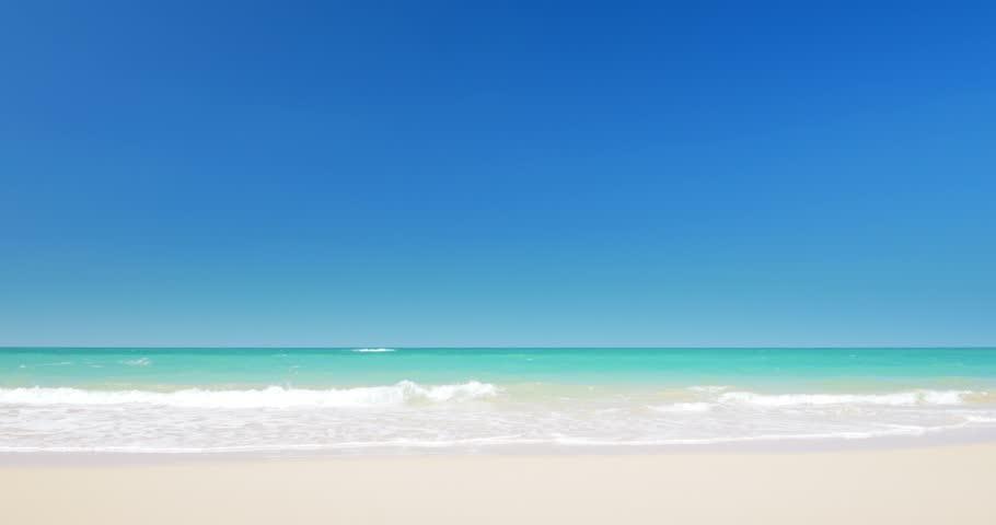 Tropical sandy beach | Shutterstock HD Video #10607771