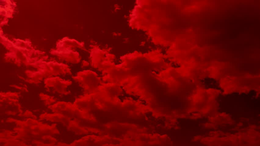 red steppe clouds - photo #34