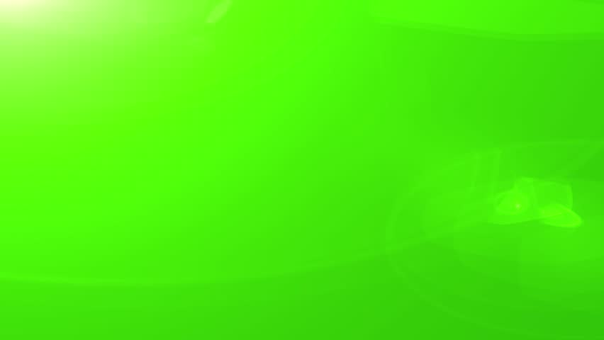Green Light Effects Stock Footage Video: Blue Lens Flare Animation On Green Screen. Light Effect