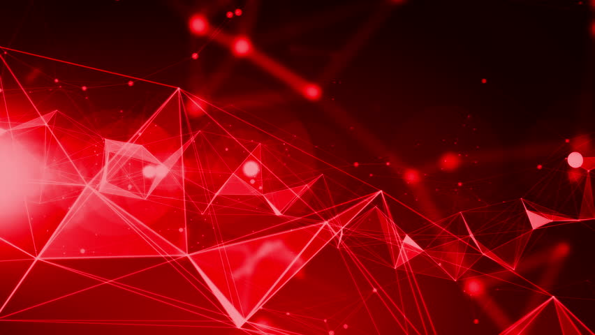 4K Red Abstract Background Animation With Red Flare - Loop ...