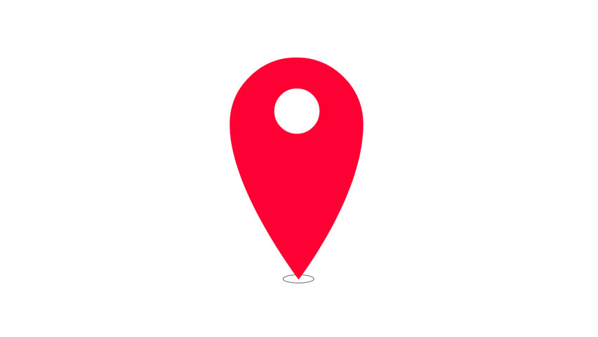 Location Position Icon Free Vector Graphic On Pixabay: Red Marker Icon With Alpha Channel Stock Footage Video