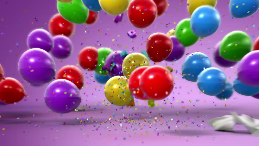 Happy Birthday, funny 3d animation. Full HD (See more animations with presents in my portfolio)