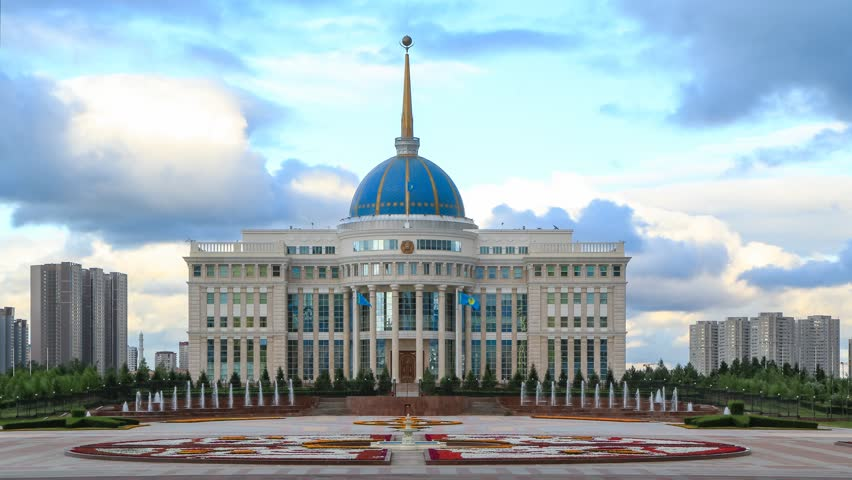 ASTANA - JULY 2015: Akorda – the residence of the President of the Republic of Kazakhstan | Shutterstock HD Video #10814879
