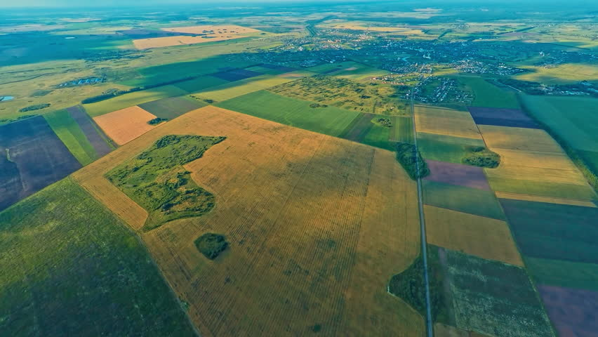 Russia, Suzdal from the height of bird's flight, July 16, 2015 | Shutterstock HD Video #10856360
