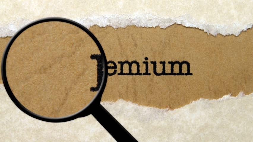 Search for premium