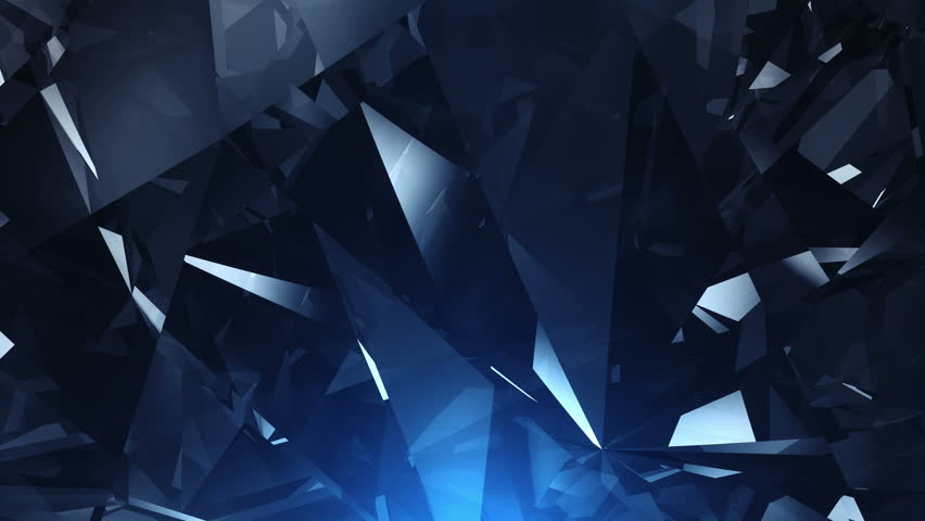 UHD Abstract  blue diamond background - loopable 4K animation | Shutterstock HD Video #10894259