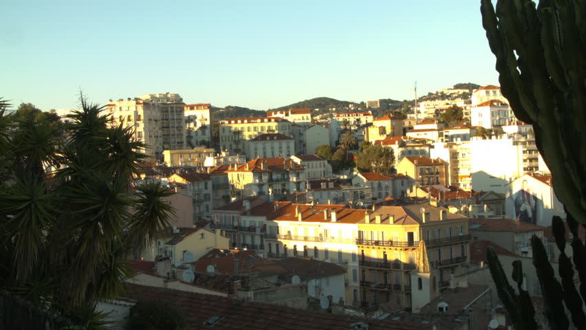 CANNES, FRANCE- CIRCA MARCH, 2015: Cityscape of modern Cannes, France in the French Riviera  | Shutterstock HD Video #10952651