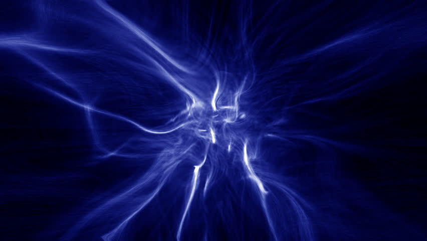 Fancy Club Light Effects In A Dark Background Stock: Blue Rotating Star Stock Footage Video 337312