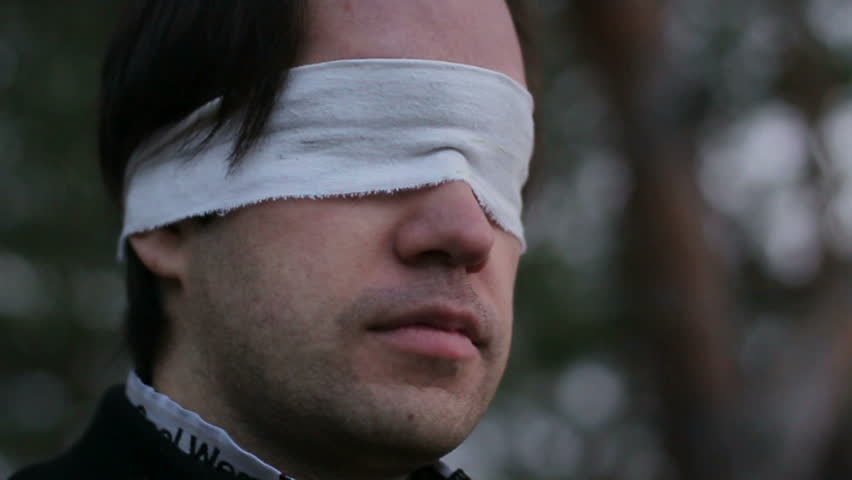 Blindfolded Definition Meaning