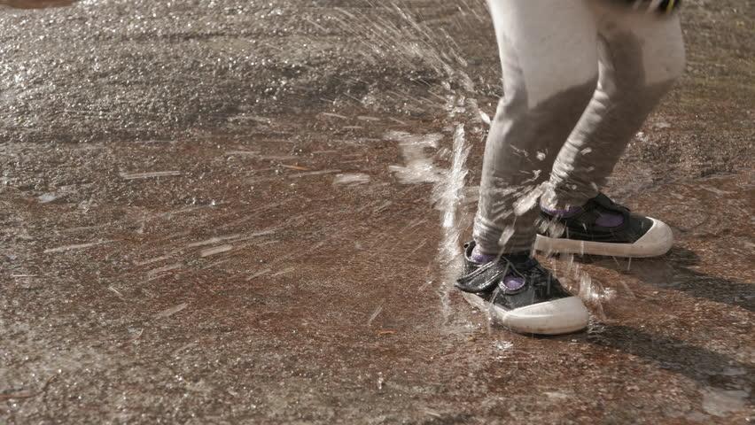 Cutting Asphalt Angle Grinder Dust Flies Stock Footage