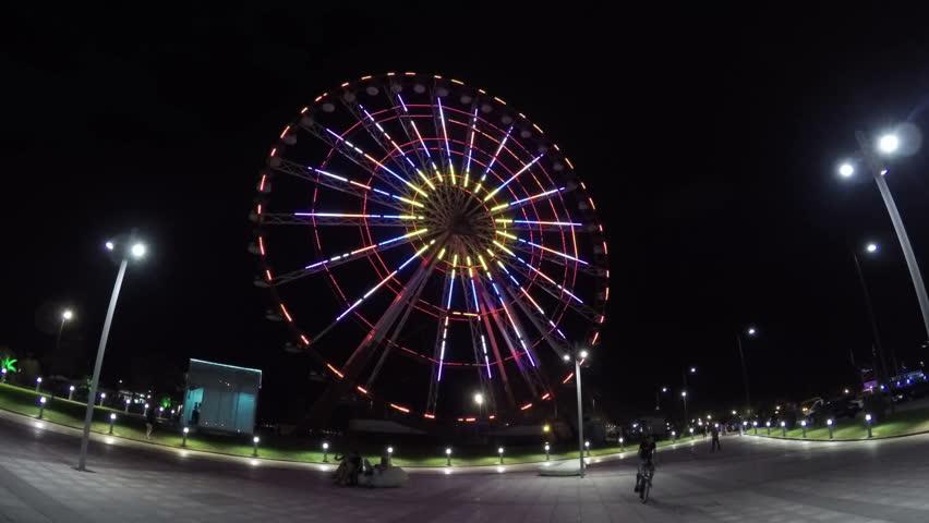 Ferris Wheel In Batumi 11   Shutterstock HD Video #11165834