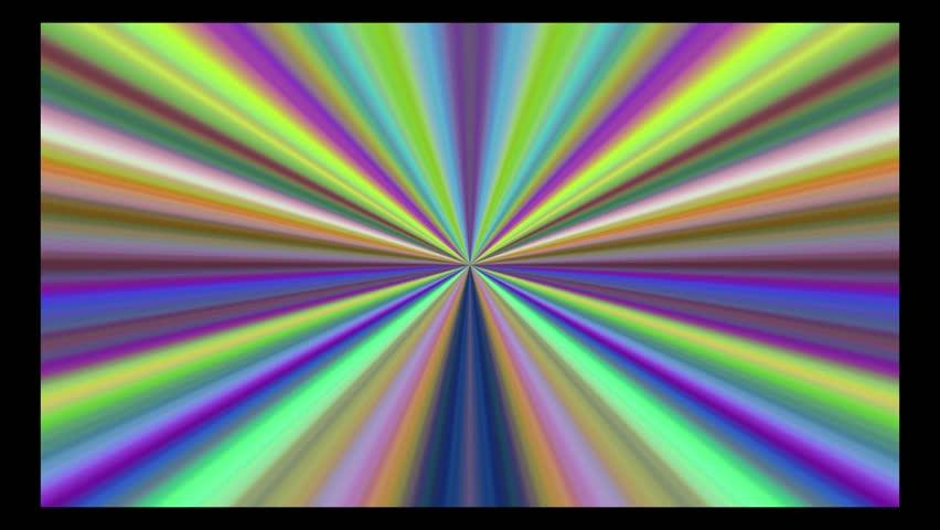 hypnotic gradient signal loop - HD stock video clip