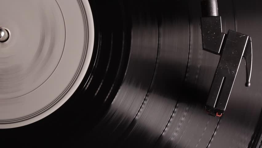 Record player retro turntable that plays vinyl vintage records