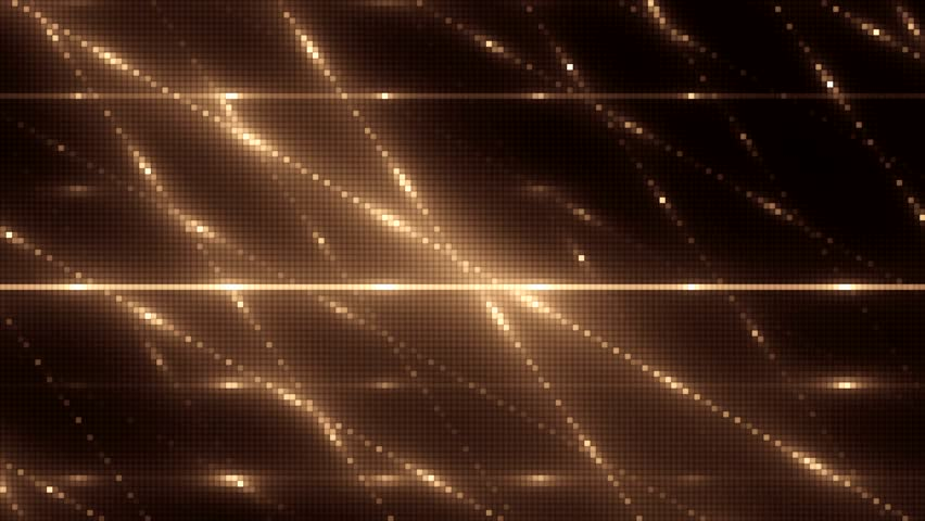VJ Animation background with lines and sparkles on black background. Abstract orange bright mosaic. Seamless loop. Seamless loop. More videos in my portfolio. | Shutterstock HD Video #11371025