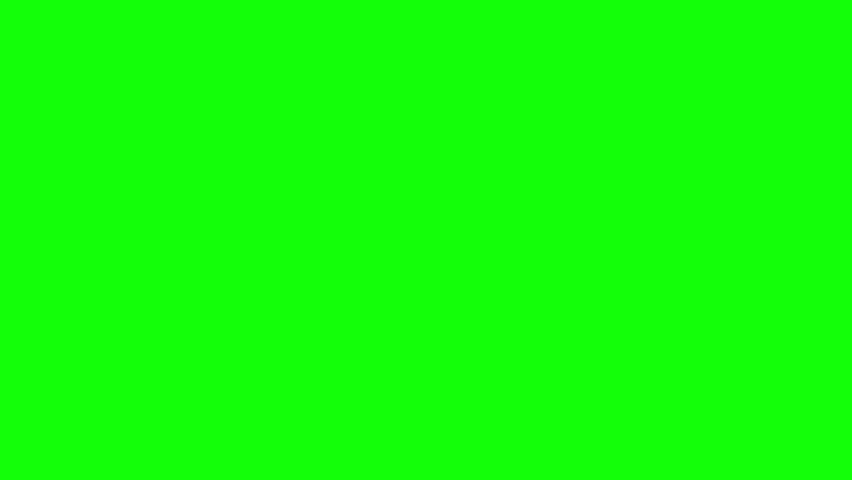 Close up of hand drawing a circle on green screen background | Shutterstock HD Video #11453933