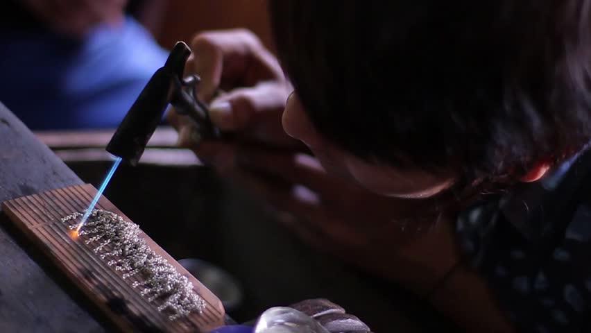Header of jeweller