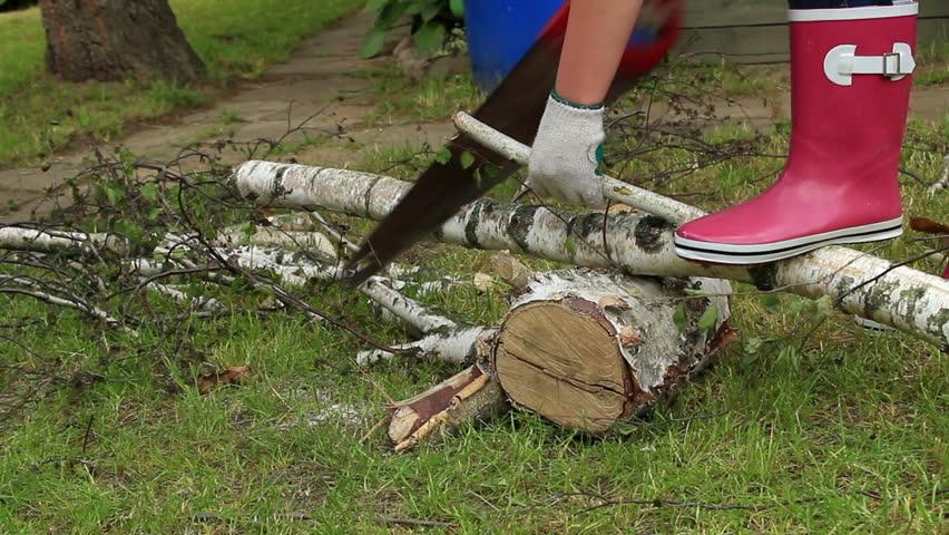 nenets woman cutting firewood - photo #42