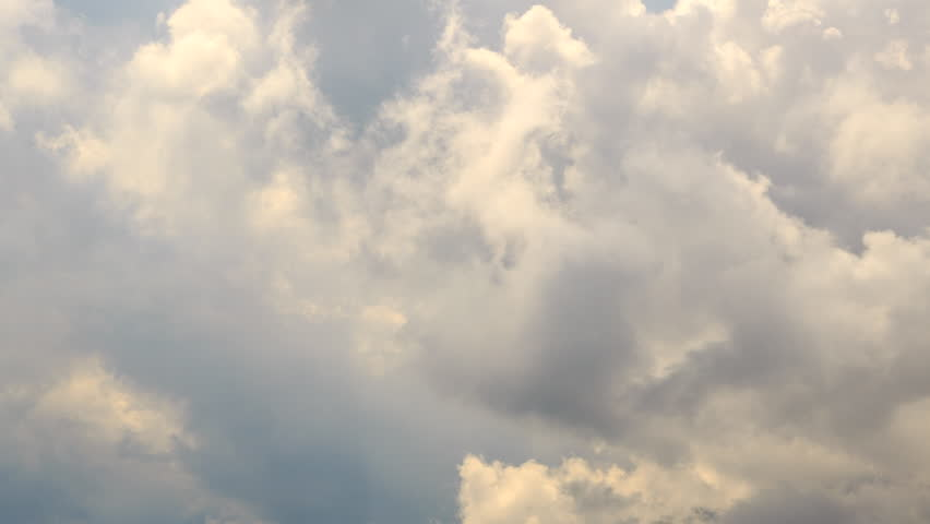 Dense clouds of. Krasnaya Polyana. Time Lapse. Sochi, Russia. UltraHD (4K)