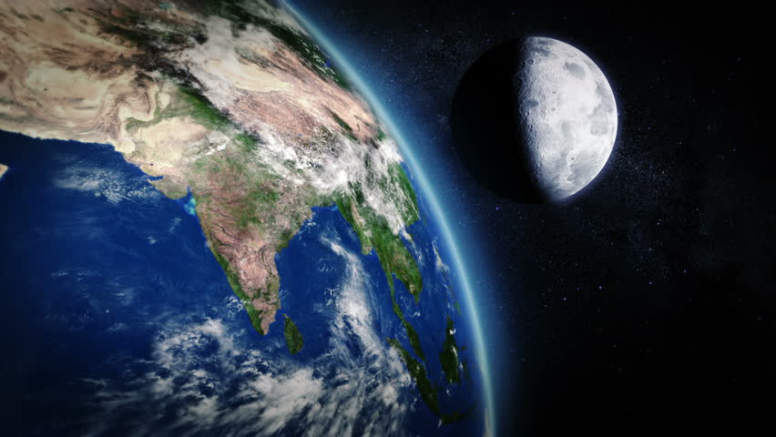 India seen from space 2 videos in 1 file highly detailed - Earth hd images from space ...