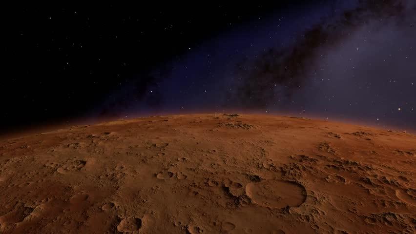 footage of mars rover landing - photo #44