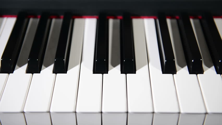 Rose And Candle On Piano Keys Stock Footage Video 8360092 - Shutterstock