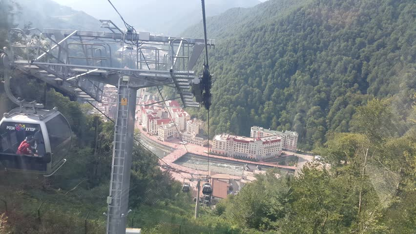 The Rosa Khutor Alpine Resort is an alpine ski resort in Krasnodar Krai, Russia, near Krasnaya Polyana. It hosted the alpine skiing events for the 2014 Winter Olympics and Paralympics, based in Sochi.