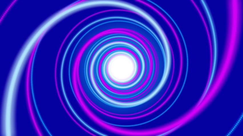 Blue abstract background, spiral light, loop | Shutterstock HD Video #11827082