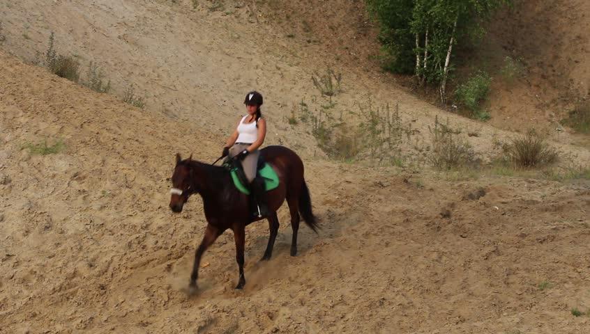 Bucking Horse Stock Footage Video Shutterstock