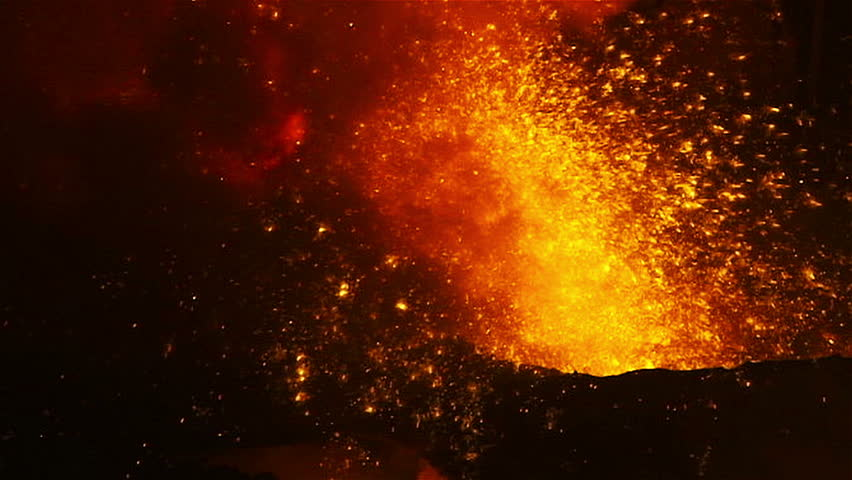 Gunpowder Blast Furnace : Molten metal melted in furnace at metallurgical plant