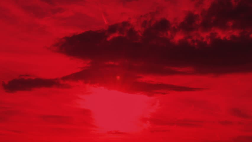 red steppe clouds - photo #18