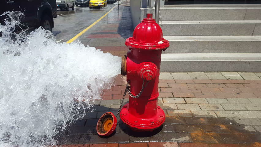 Image result for open hydrant