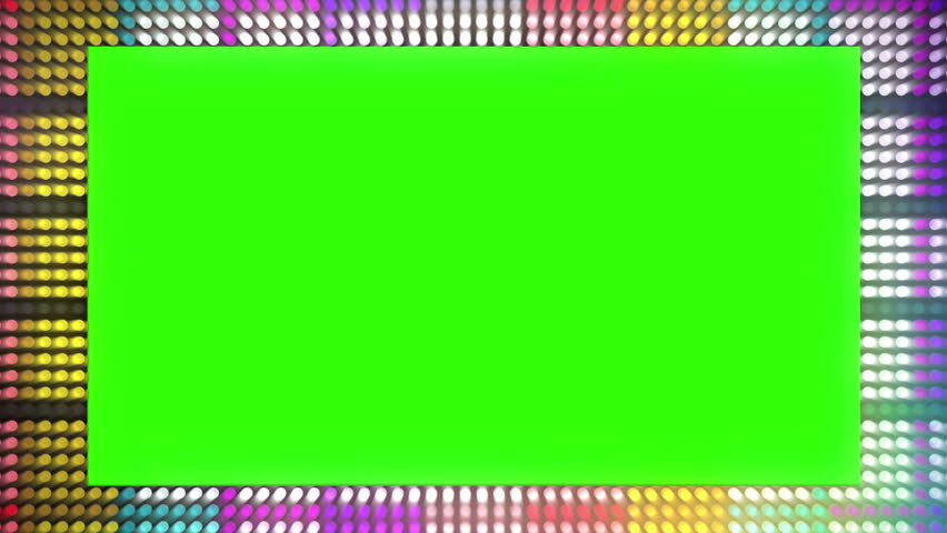 Led Billboard Title Plate Background. Computer generated abstract loopable motion background. Led Billboard Title Plate Background | Shutterstock HD Video #12488600