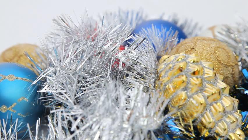 Turning Christmas decorations HD