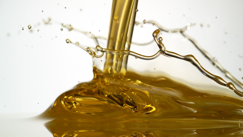 Pouring oil. Shot with high speed camera, phantom flex 4K. Slow Motion. - 4K stock video clip