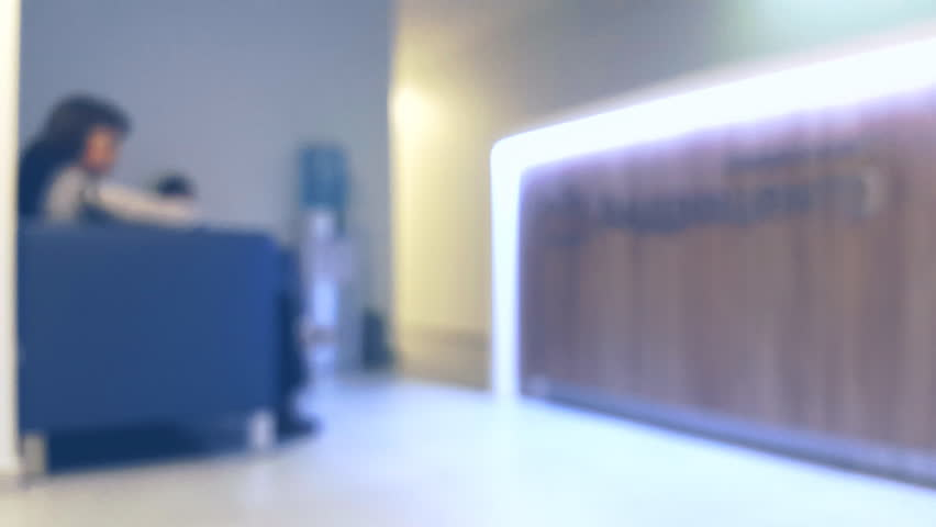 Reception at the clinic, defocused | Shutterstock HD Video #12782693