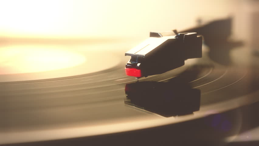 Record Player Turntable Hd Stock Footage A Record Player