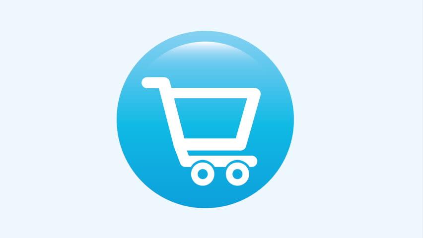 Buy icon design,Video Animation HD1080 - HD stock video clip