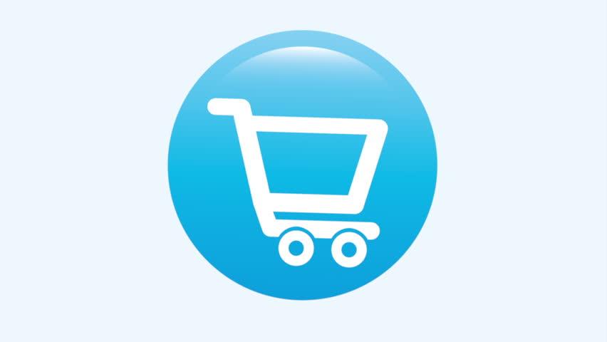 Buy icon design,Video Animation HD1080 - HD stock footage clip