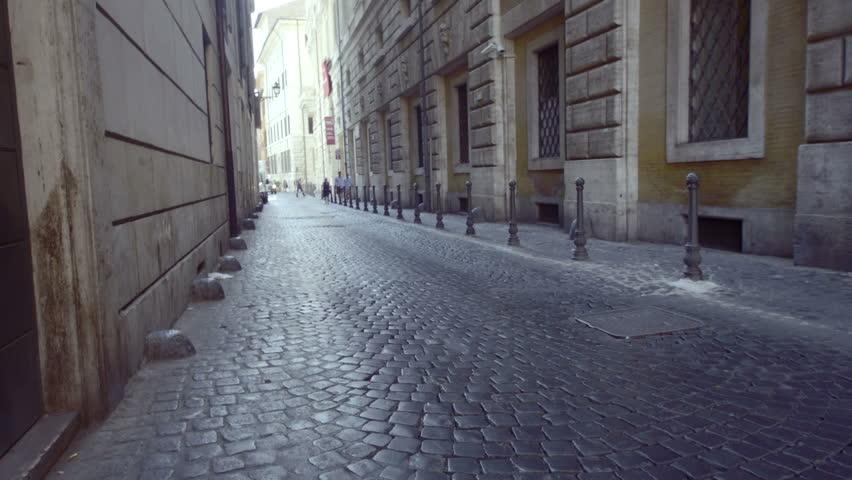Roman marble floor - HD stock video clip