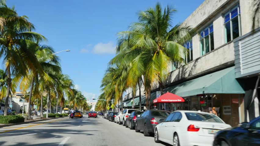 Washington Avenue South Beach Fl