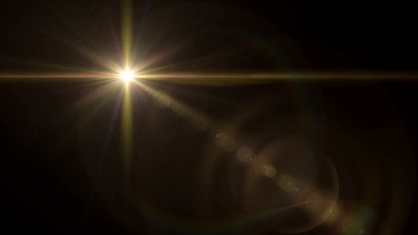 Abstract image of lens flare representing the glow star effect with 4K video | Shutterstock HD Video #13147418